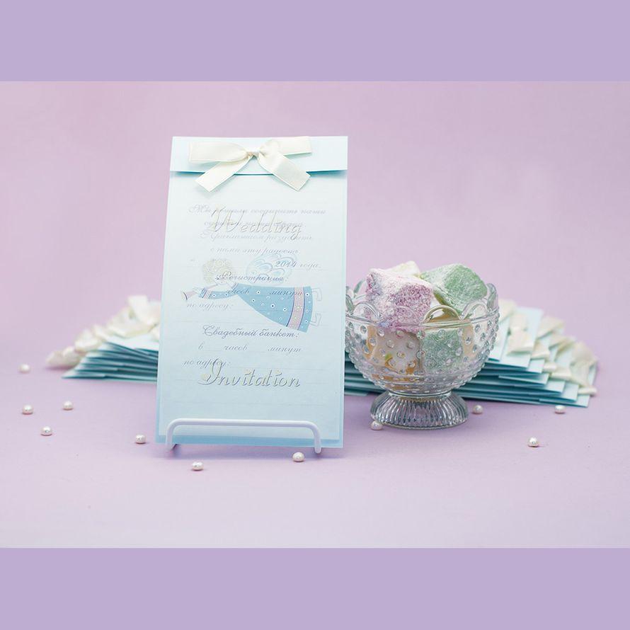 Свадебное приглашение с ангелочком - фото 2017000 Natta Art Shop. Приглашения, бижутерия, подарки