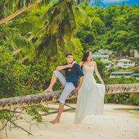 послесвадебная фотосессия на острове Маэ, Сейшелы