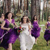 Подружки невесты. стиль бохо
