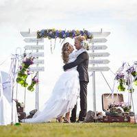 свадьба в стиле путешествие выездная регистрация