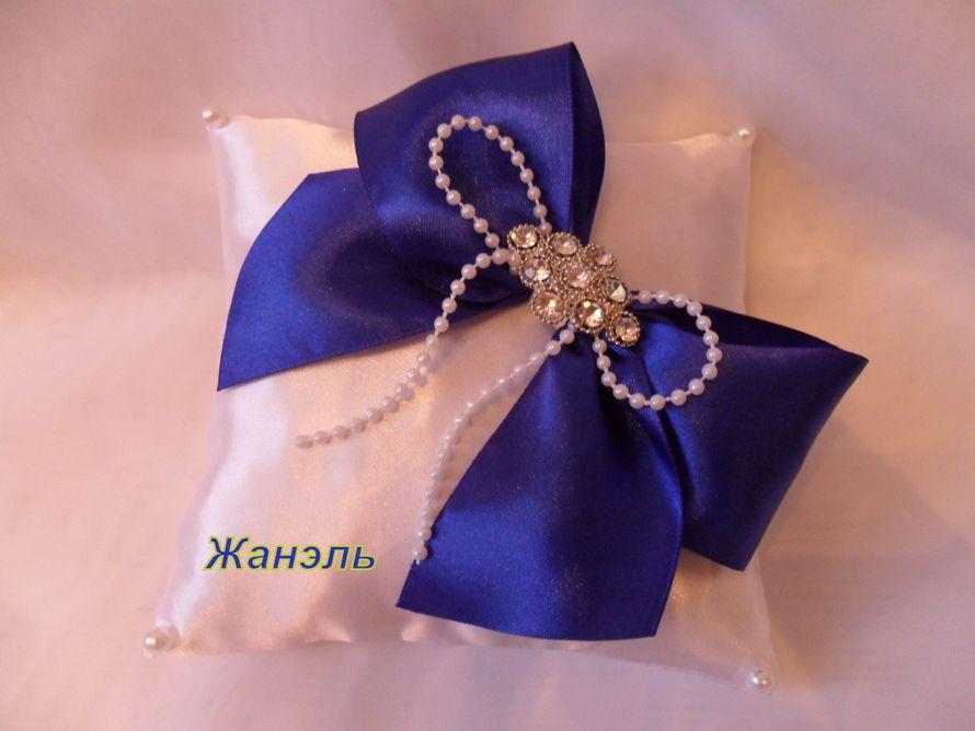 подушка для колец - фото 3891745 Жанэль - студия свадебного декора и услуг