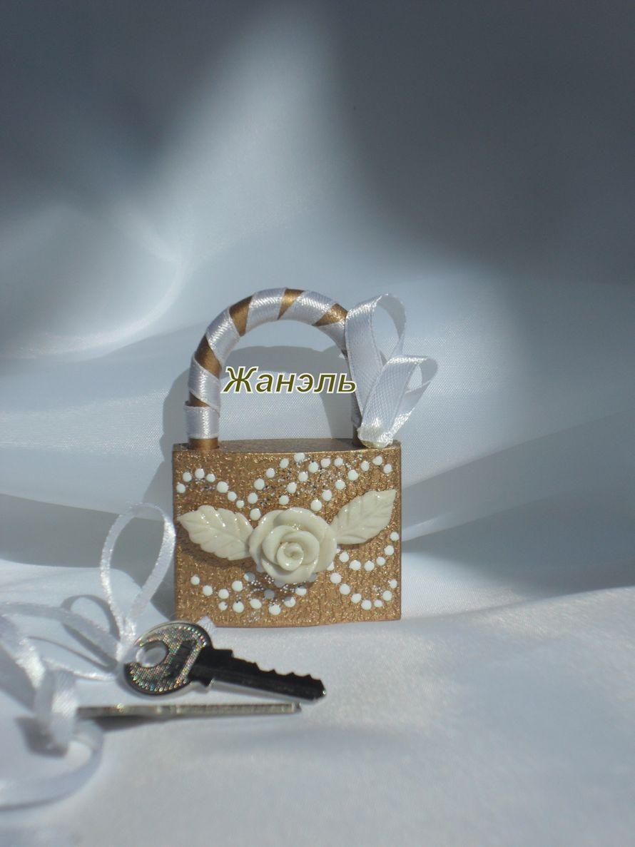 Свадебный замочек - фото 4617187 Жанэль - студия свадебного декора и услуг