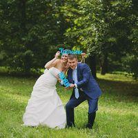 буквы, свадебная бутафория, голубой