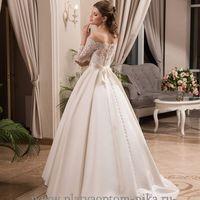 Свадебное платье а-силуэта, арт. 117