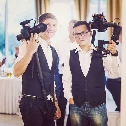 Видеосъёмка полного дня - 2 оператора, 12 часов