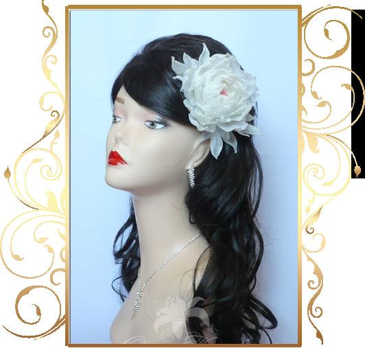 Фото 810167 в коллекции Свадебные шляпки, вуалетки - Кнауб Ольга - Свадебные аксессуары