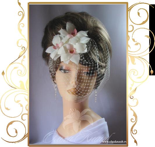Фото 810199 в коллекции Свадебные шляпки, вуалетки - Кнауб Ольга - Свадебные аксессуары