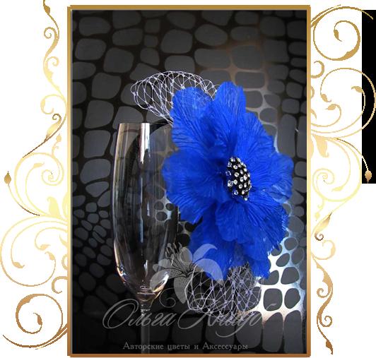Фото 810227 в коллекции Свадебные шляпки, вуалетки - Кнауб Ольга - Свадебные аксессуары