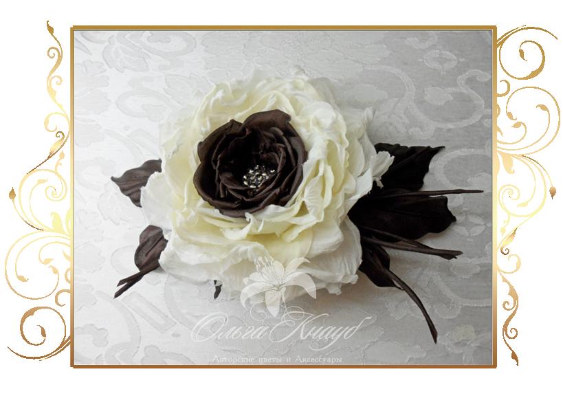 Фото 810231 в коллекции Цветы из шелка - Кнауб Ольга - Свадебные аксессуары