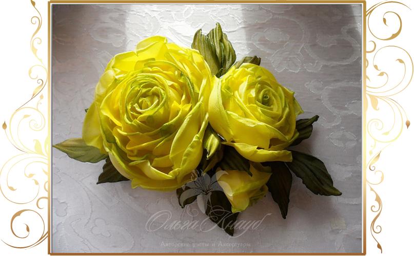 Фото 810239 в коллекции Цветы из шелка - Кнауб Ольга - Свадебные аксессуары