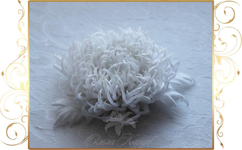 Фото 810243 в коллекции Цветы из шелка - Кнауб Ольга - Свадебные аксессуары