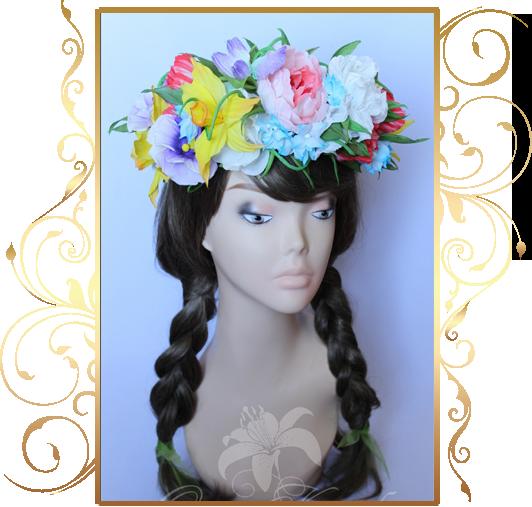 Фото 810251 в коллекции Цветы из шелка - Кнауб Ольга - Свадебные аксессуары