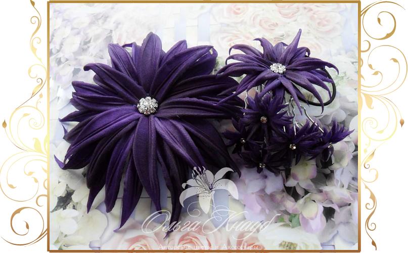 Фото 810273 в коллекции Цветы из шелка - Кнауб Ольга - Свадебные аксессуары