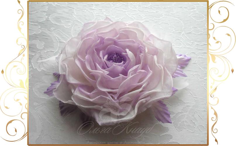 Фото 810285 в коллекции Цветы из шелка - Кнауб Ольга - Свадебные аксессуары