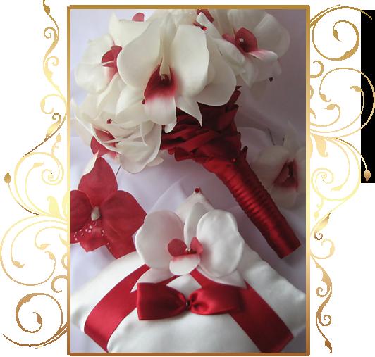 Фото 810325 в коллекции Цветы из шелка - Кнауб Ольга - Свадебные аксессуары