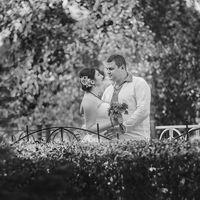 Свадебные фото ч.б.