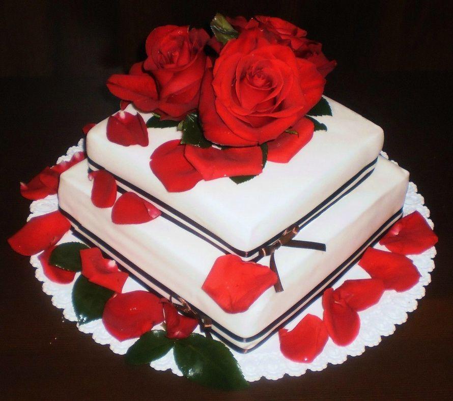 """Фото 8226178 в коллекции Свадебные торты - Арт-кондитерская """"Торты от Светланы"""""""