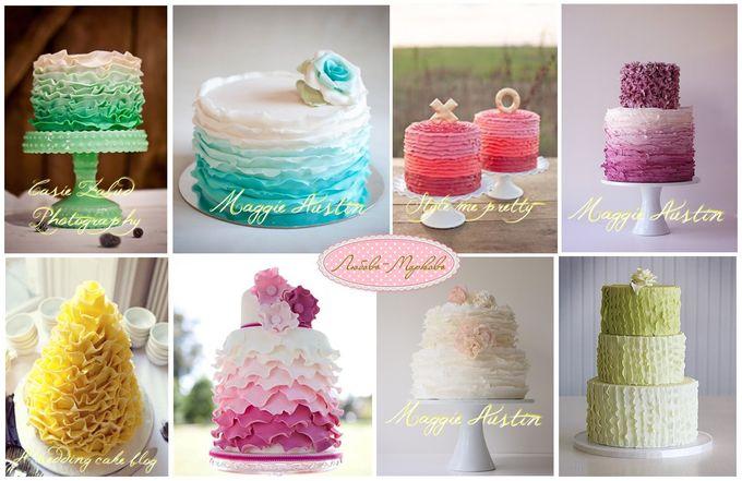 Фотографии мастичных тортов