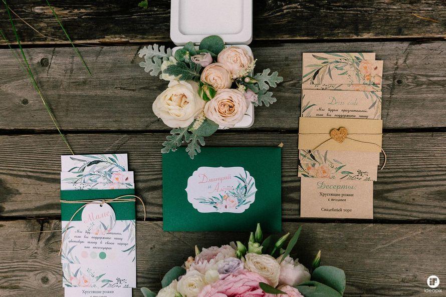 """Фото 16421460 в коллекции Свадьба в стиле """"Watercolor's notes"""" - Свадебное агентство """"Белое"""""""