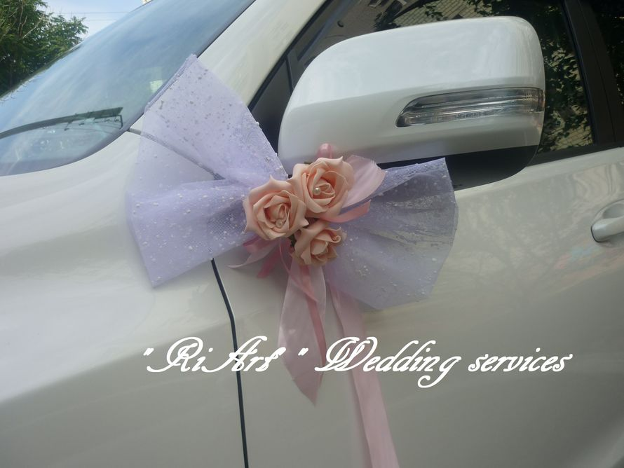 """Белоснежный кортеж (работа из предоставленного материала) - фото 1744065 """"RiArt"""" - свадебные услуги декора"""
