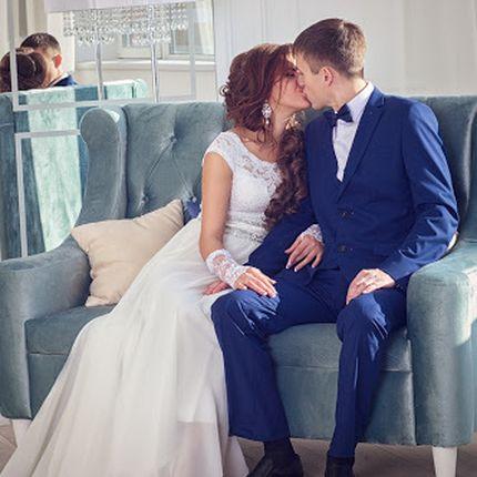 Студийная фотосессия в день свадьбы