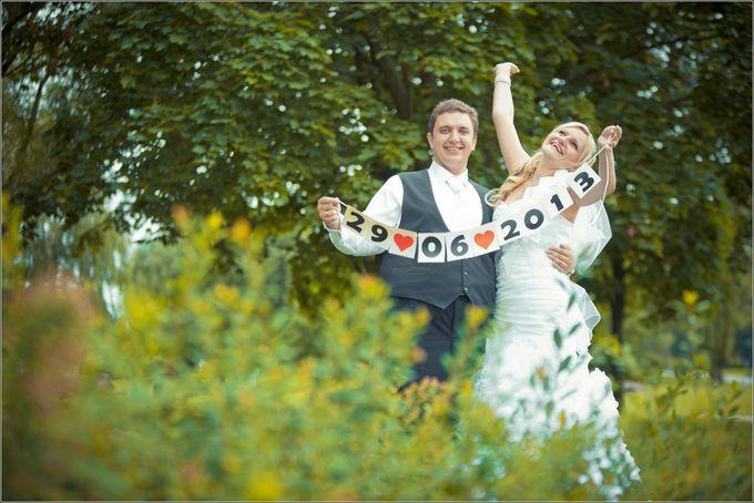 Дата на свадьбу своими руками 51