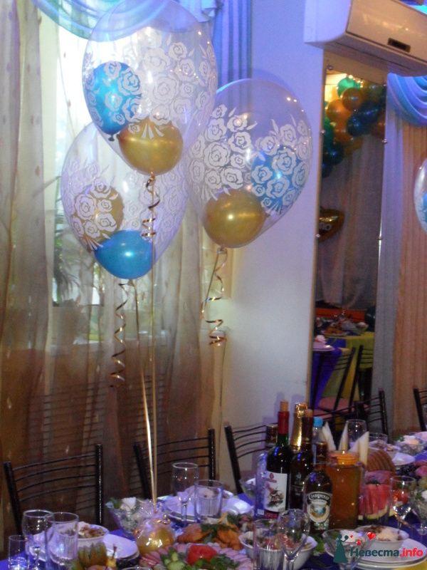 Фото 152251 в коллекции Украшение шарами свадеб - Праздничный Бум - оформление шарами