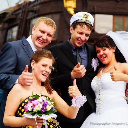 Фотосъёмка свадьбы и фотокнига в подарок