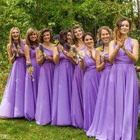 Подружки невесты в цвете Сиреневый Свадьба в г.Челябинск