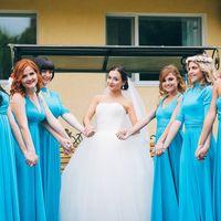 Подружки невесты в цвете Голубой Свадьба в г.Челябинск