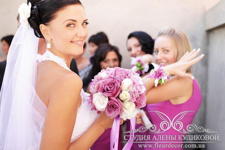 Свадебный букет - фото 1840363 Студия флористики Алёны Куликовой