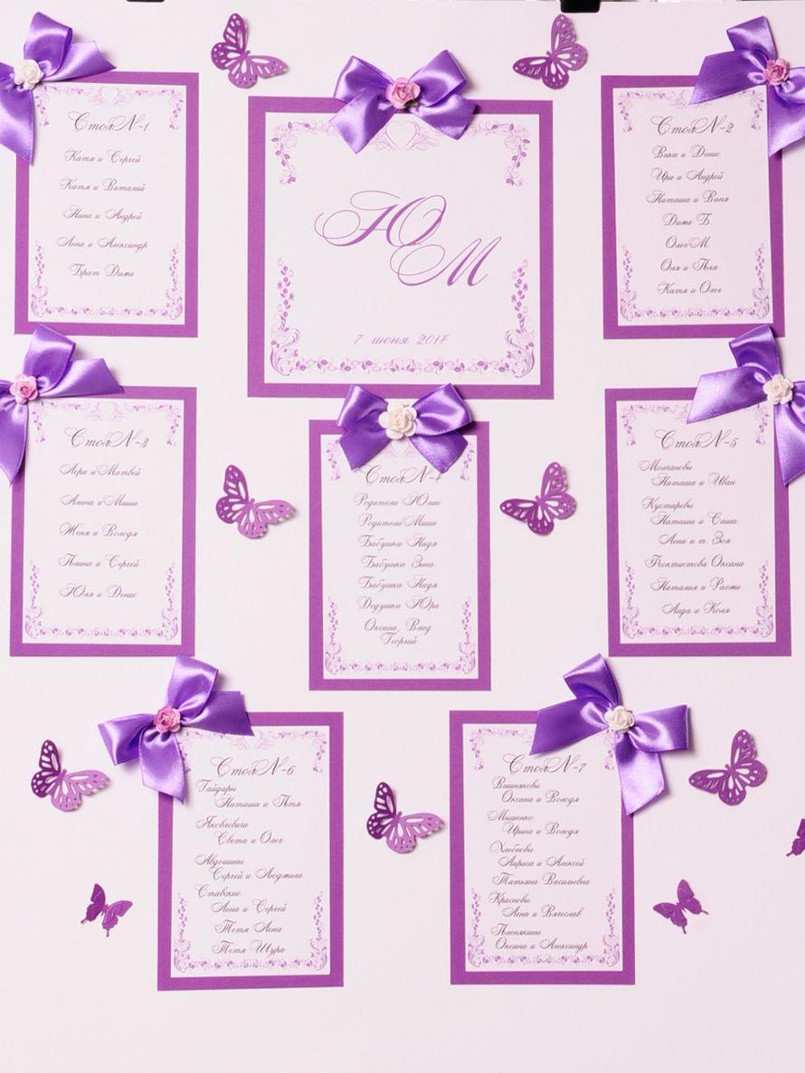 Как самому сделать план рассадки гостей на свадьбе