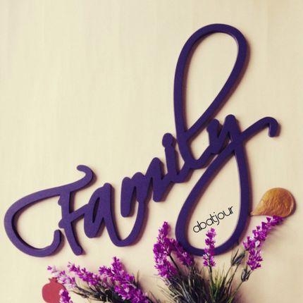 Слово из дерева Family