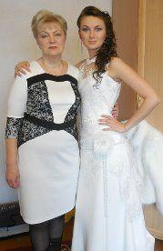 Моя работа. Прическа и макияж. Мама и дочь - фото 2642543 Попова Ольга косметолог-визажист