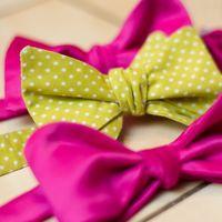 детали розово-зеленой свадьбы