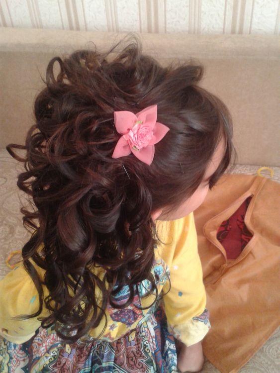 Детские вечерние прически для девочек