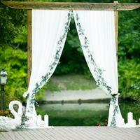 Тематическая винная прованс свадьба, синяя  и красная свадьба