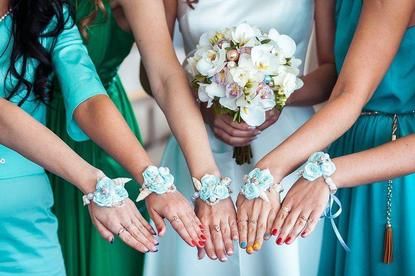 Как сделать браслеты подружек невесты