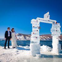 Уличные арт-объекты для фотографирования изо льда!