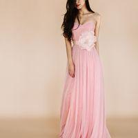 Розовое свадебное платье boom blush