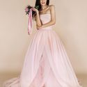 Розовое свадебное платье White by Vera Wang vw351178 blush
