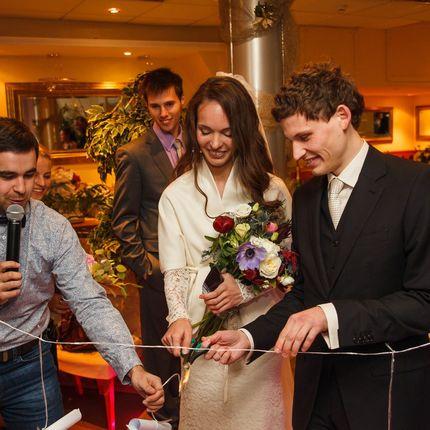 Ведущий конкурсов на свадьбе