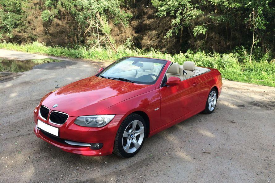 BMW 3 Красный Кабриолет