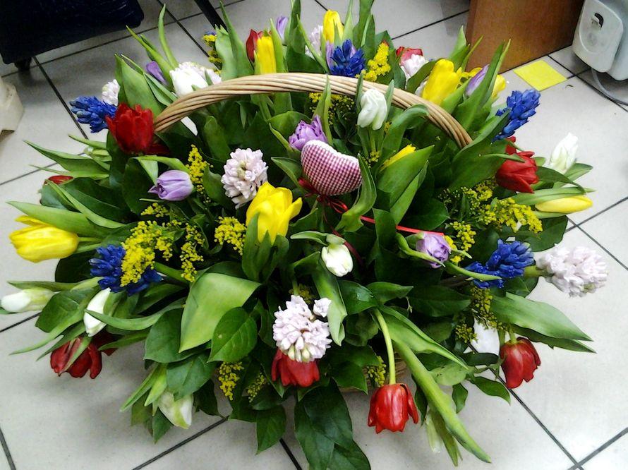 """Весенний букет - фото 1937211 Флористическая мастерская """"Fleur de Lys"""""""