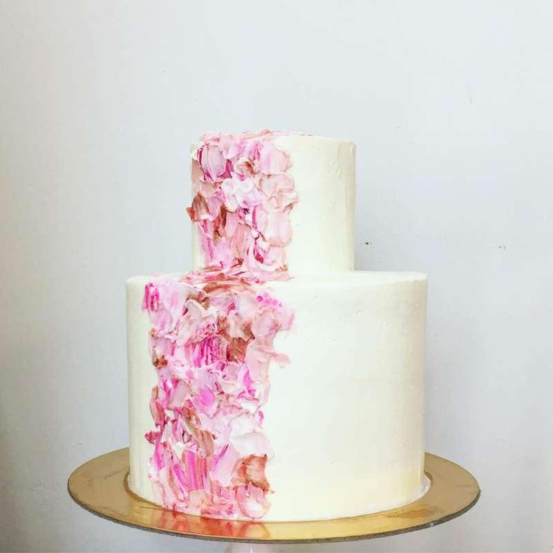 торт с кремовым декором - фото 12471966 Sweet - кафе-кондитерская