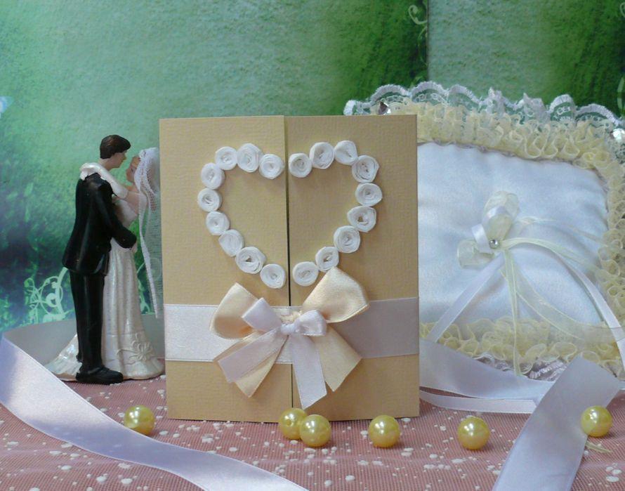 Приглашение на свадьбу в наличии и на заказ - фото 1978325 Мастерская открыток Бантик