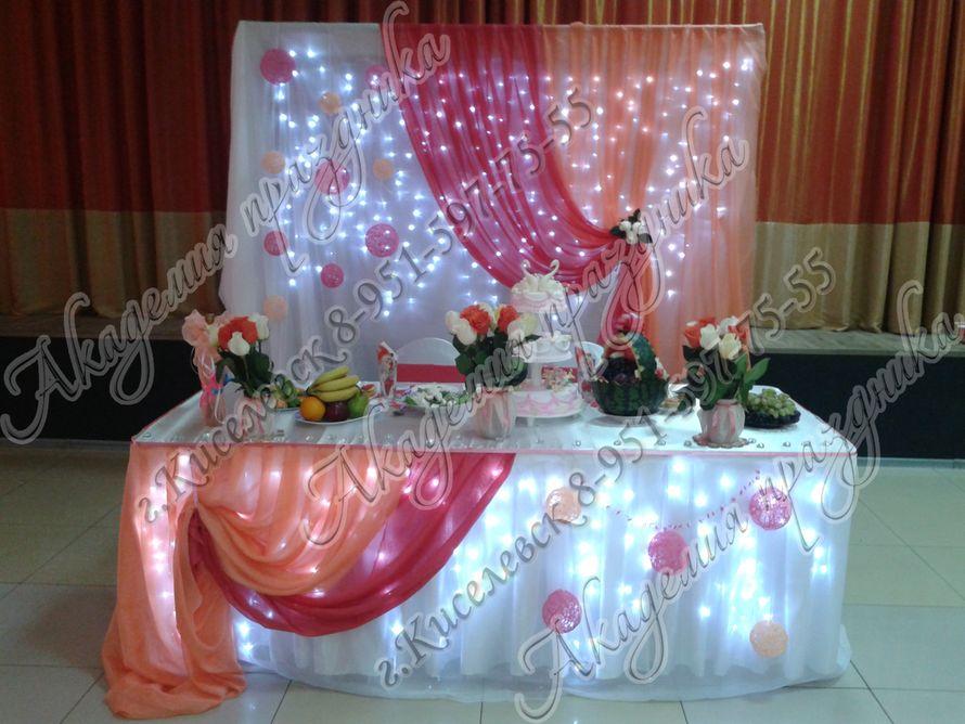 Фото 1995371 в коллекции Оформление свадебного зала - Академия Праздника - оформление свадеб
