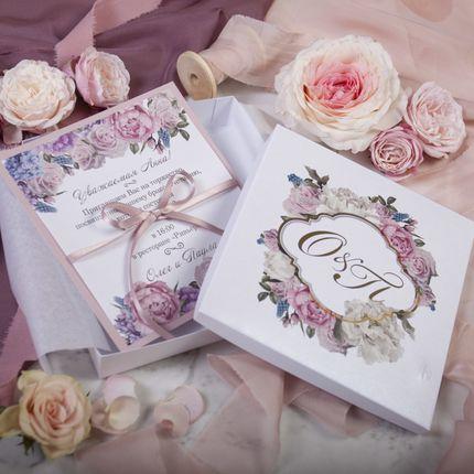 Приглашение Victorian Rose