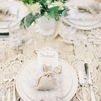 Декор свадьбы кружевом