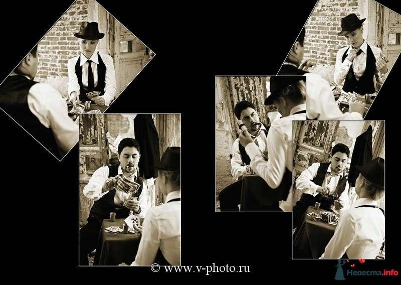 """Фото 94529 в коллекции Тематическая фотосъёмка-лавстори """"Гангстеры"""", развороты фотокниги - Свадебные фотографы StoryOfMoments"""